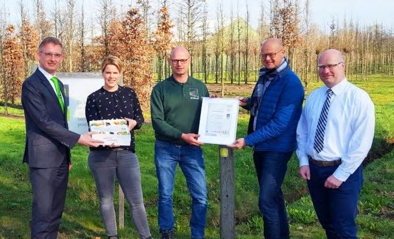 Spankert duurzame boomkwekerij Groenkeur product certificaat