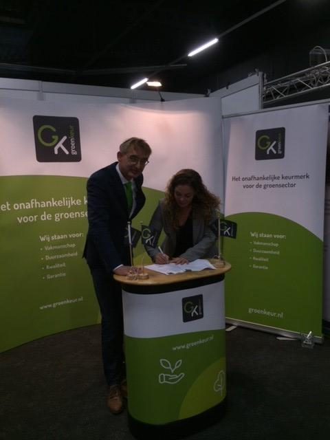 Strategisch partnership voor duurzaamheidsimpuls aan groensector
