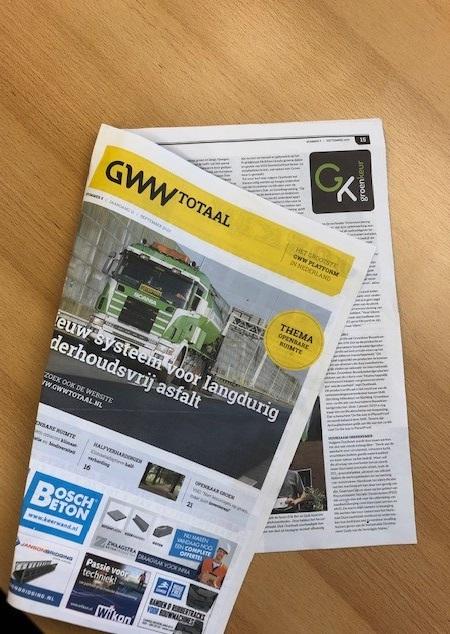 GWW Totaal laat meerwaarde Groen(keur) zien